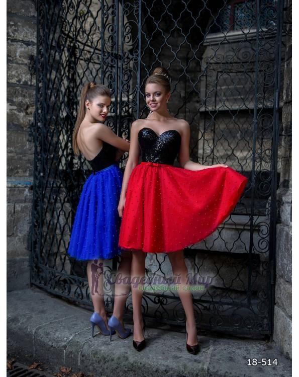 Вечернее платье 18-514