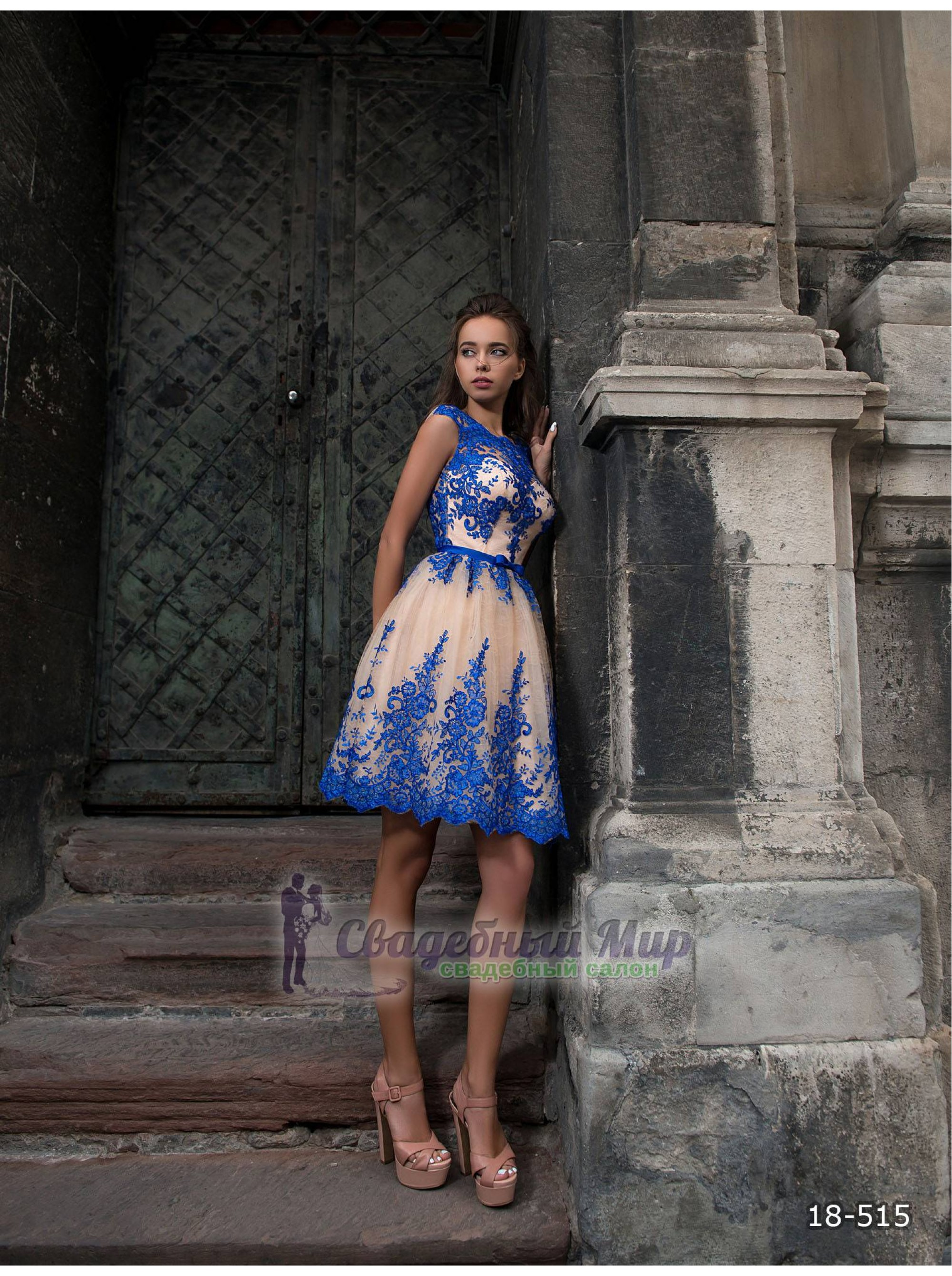 Вечернее платье 18-515