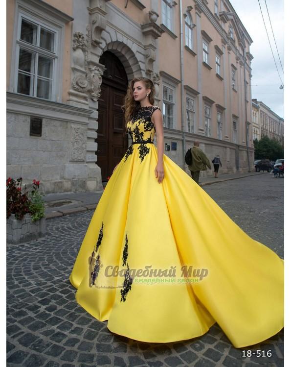 Вечернее платье 18-516