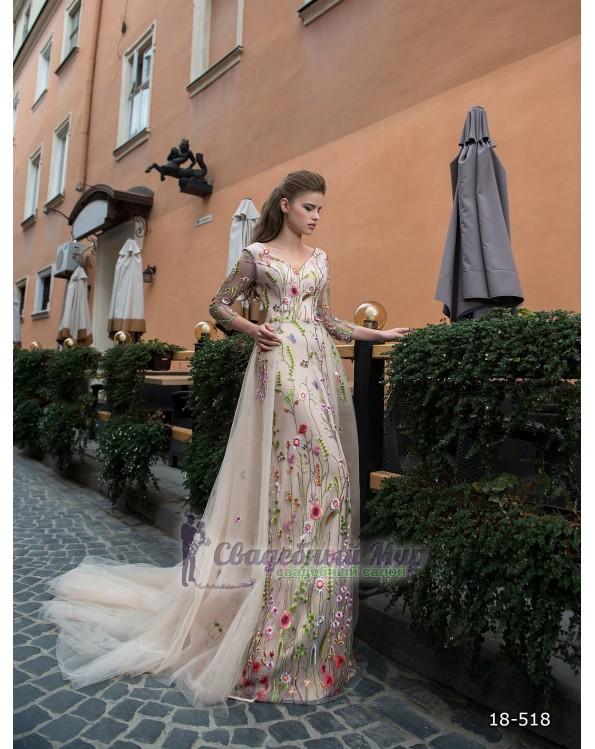 Вечернее платье 18-518