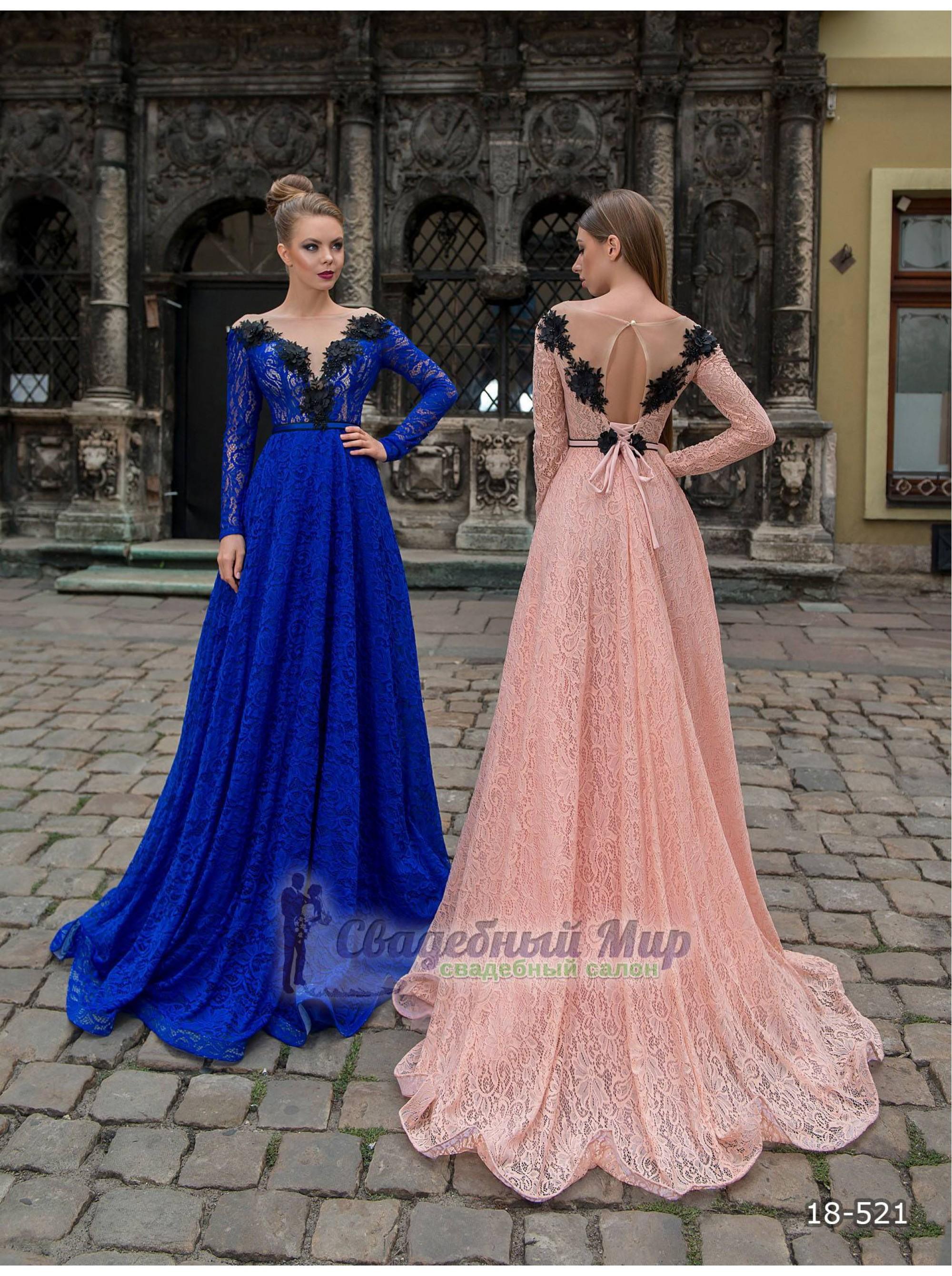 Вечернее платье 18-521
