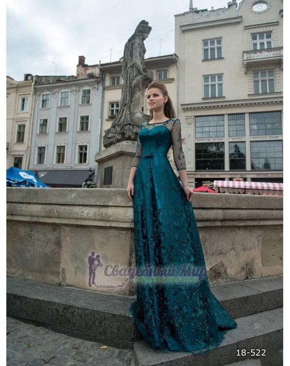 Вечернее платье 18-522