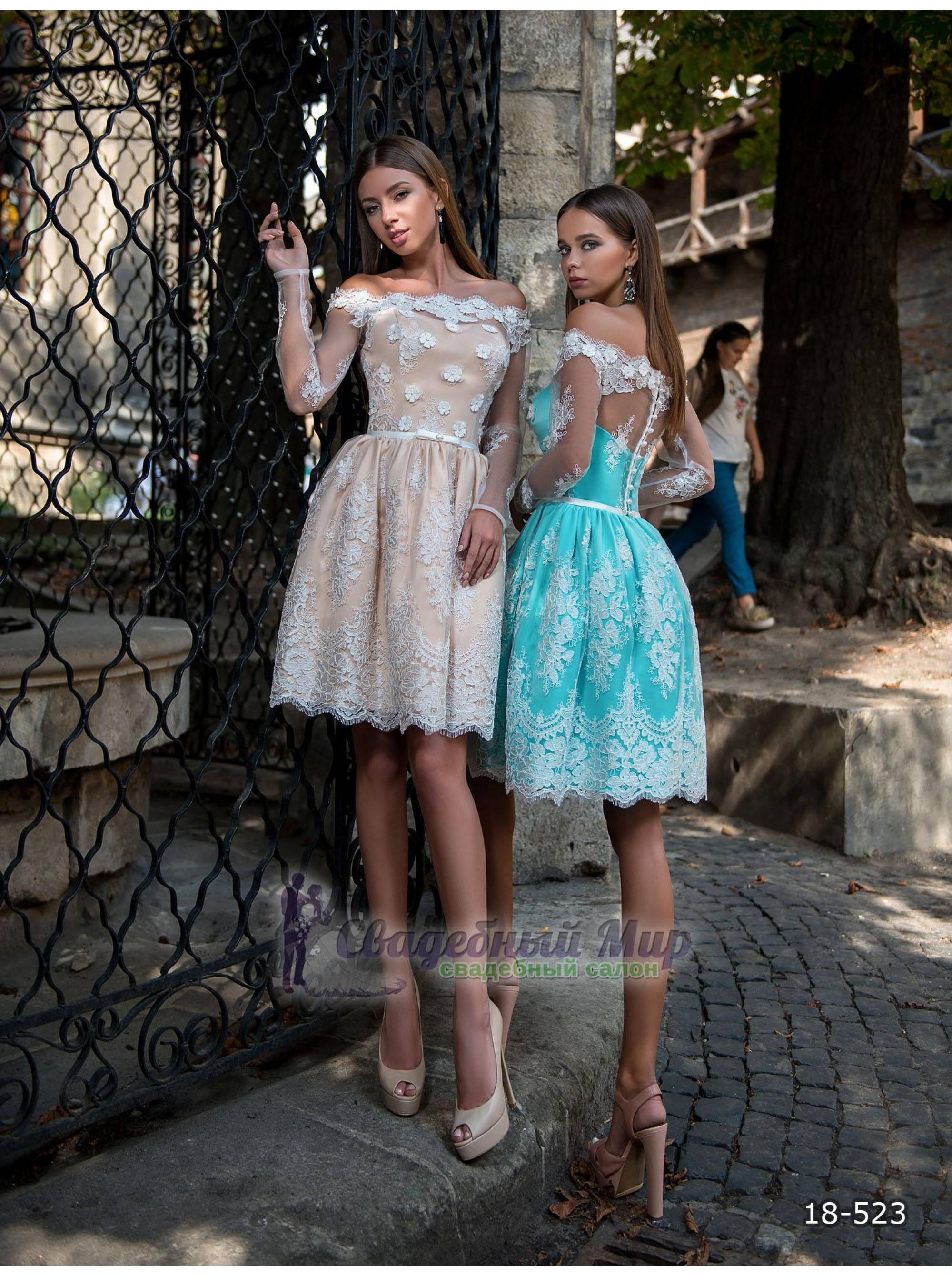Вечернее платье 18-523