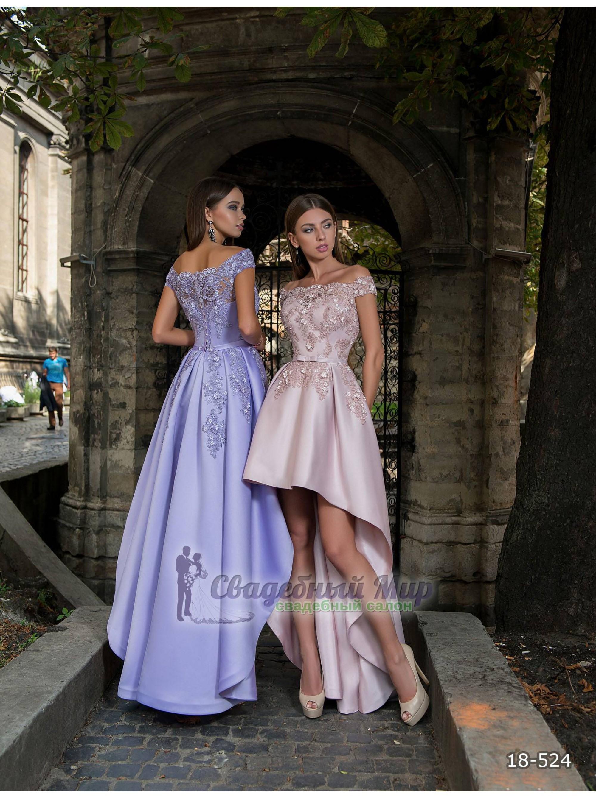 Вечернее платье 18-524