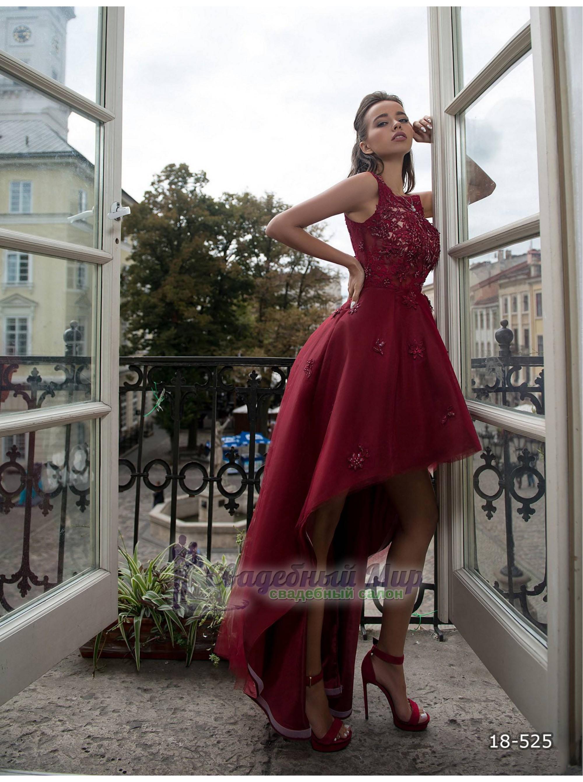 Вечернее платье 18-525