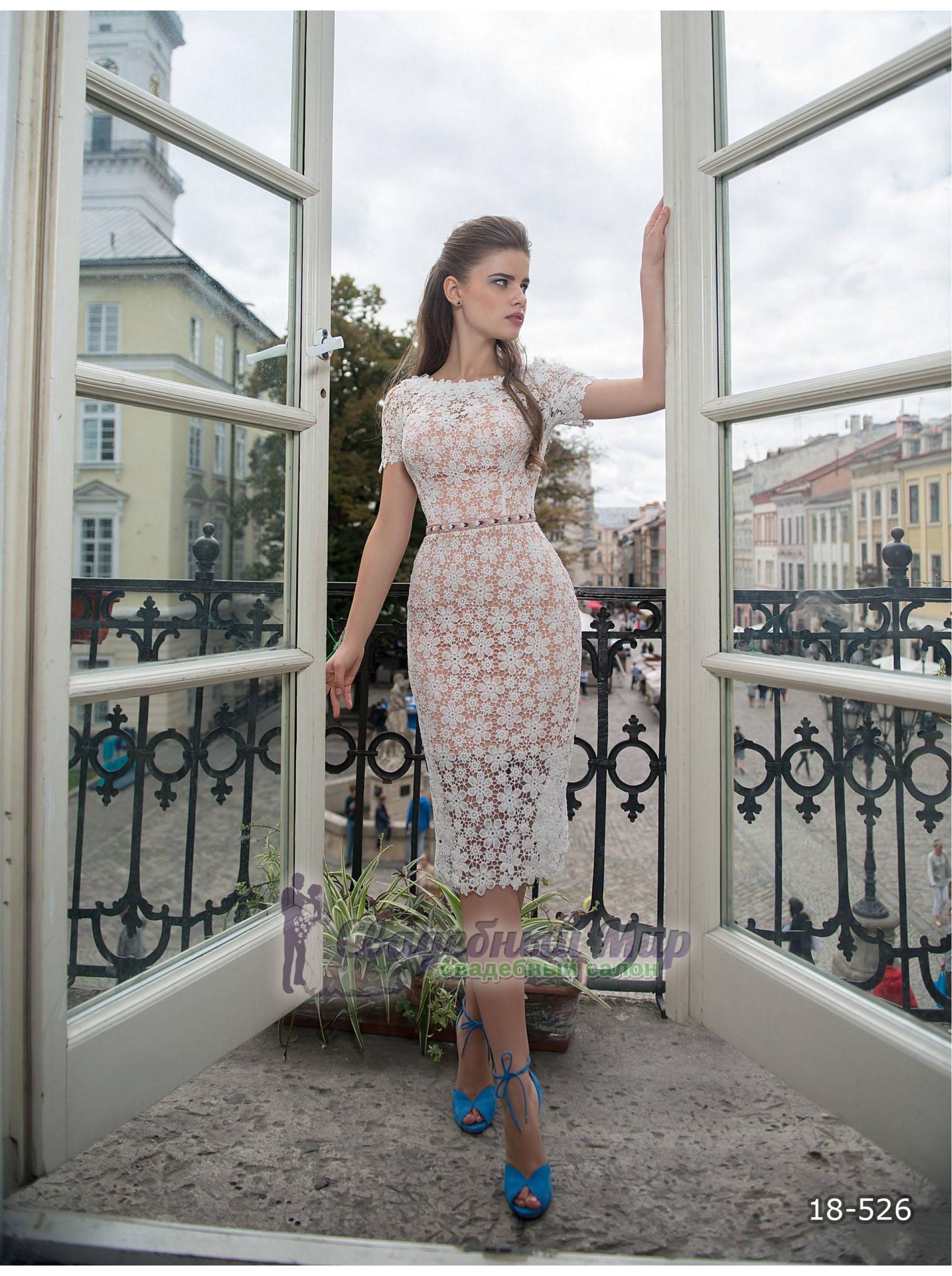 Вечернее платье 18-526