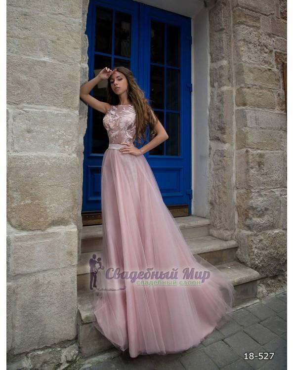 Вечернее платье 18-527
