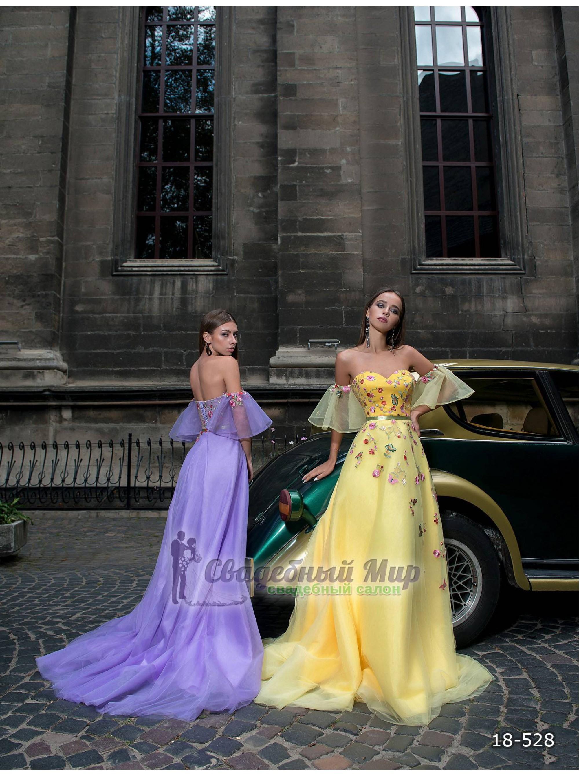 Вечернее платье 18-528