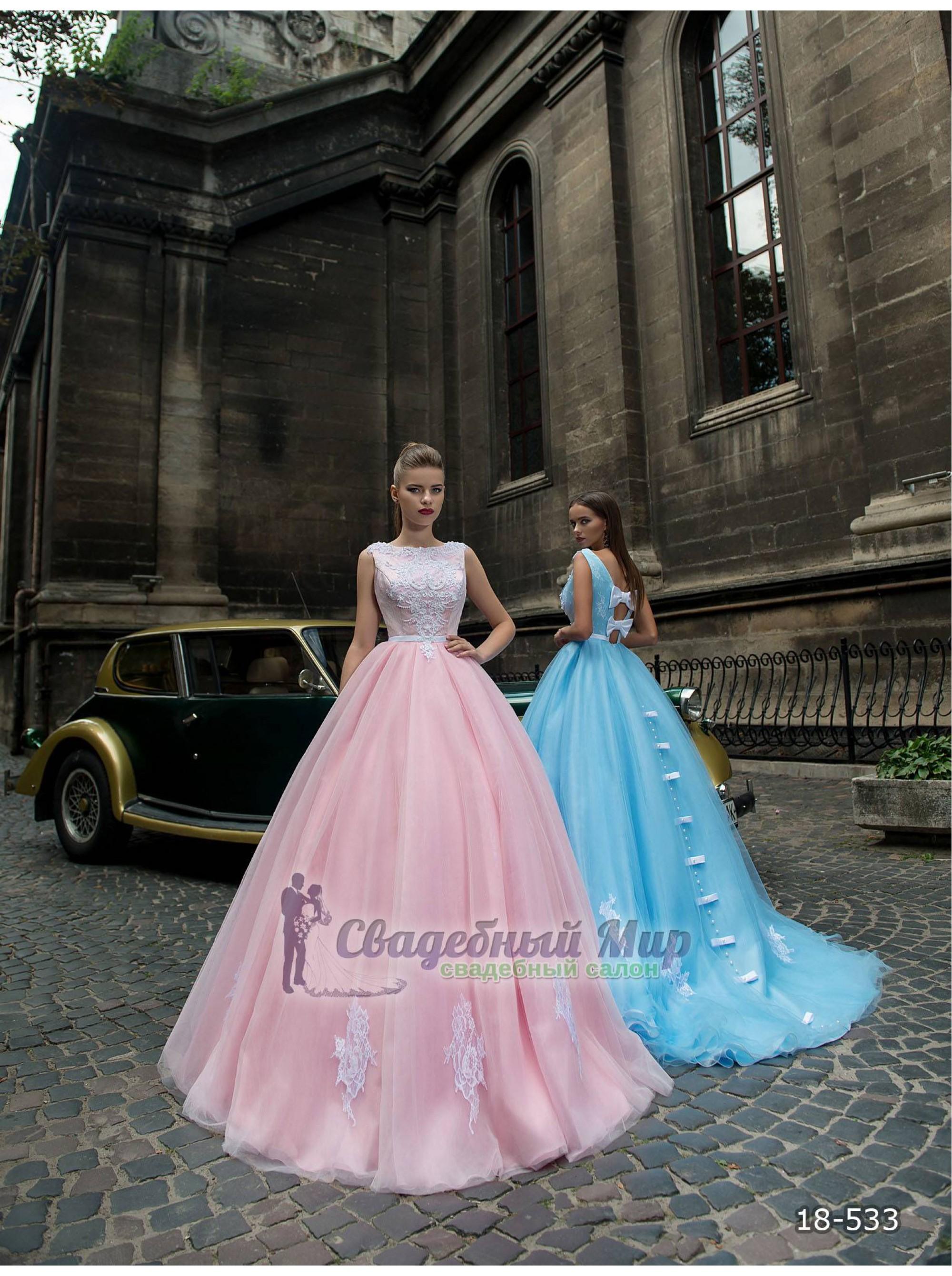 Вечернее платье 18-533