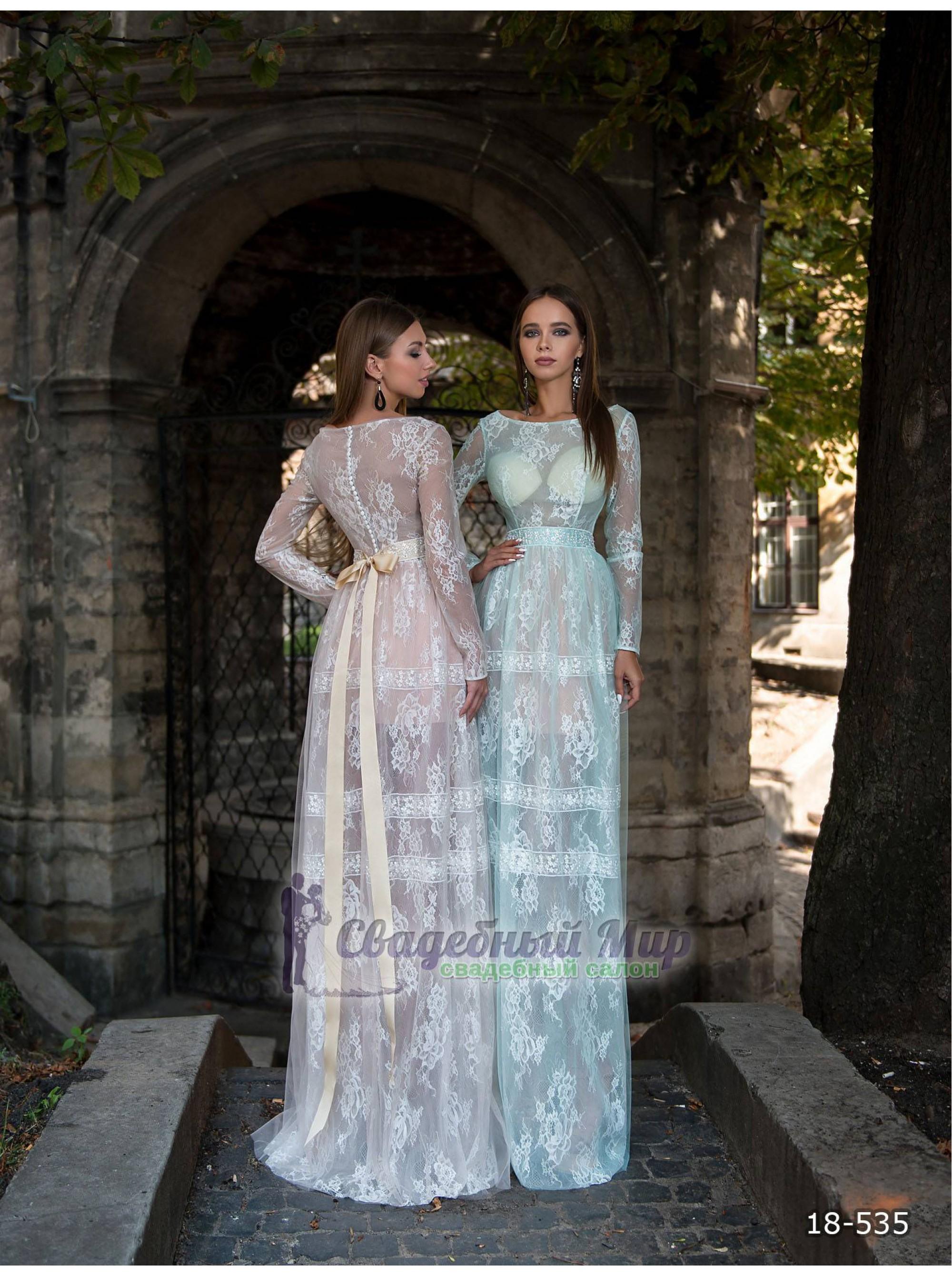 Вечернее платье 18-535