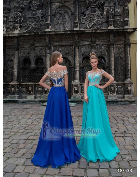 Вечернее платье 18-538