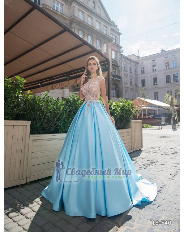Вечернее платье 18-540