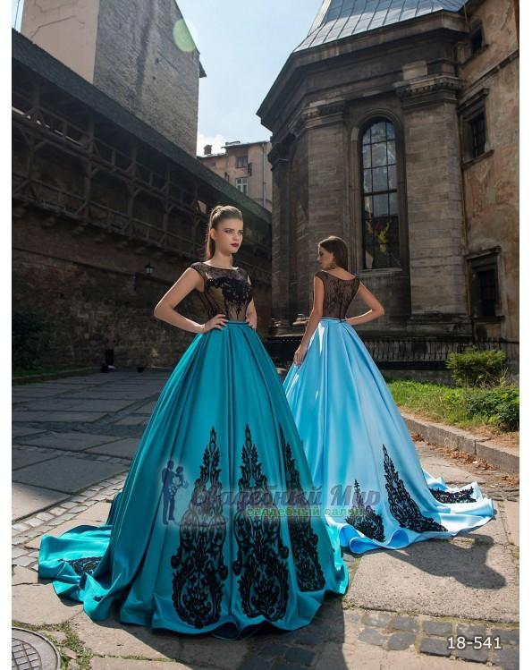 Вечернее платье 18-541