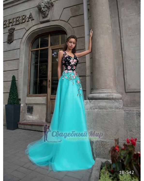 Вечернее платье 18-542
