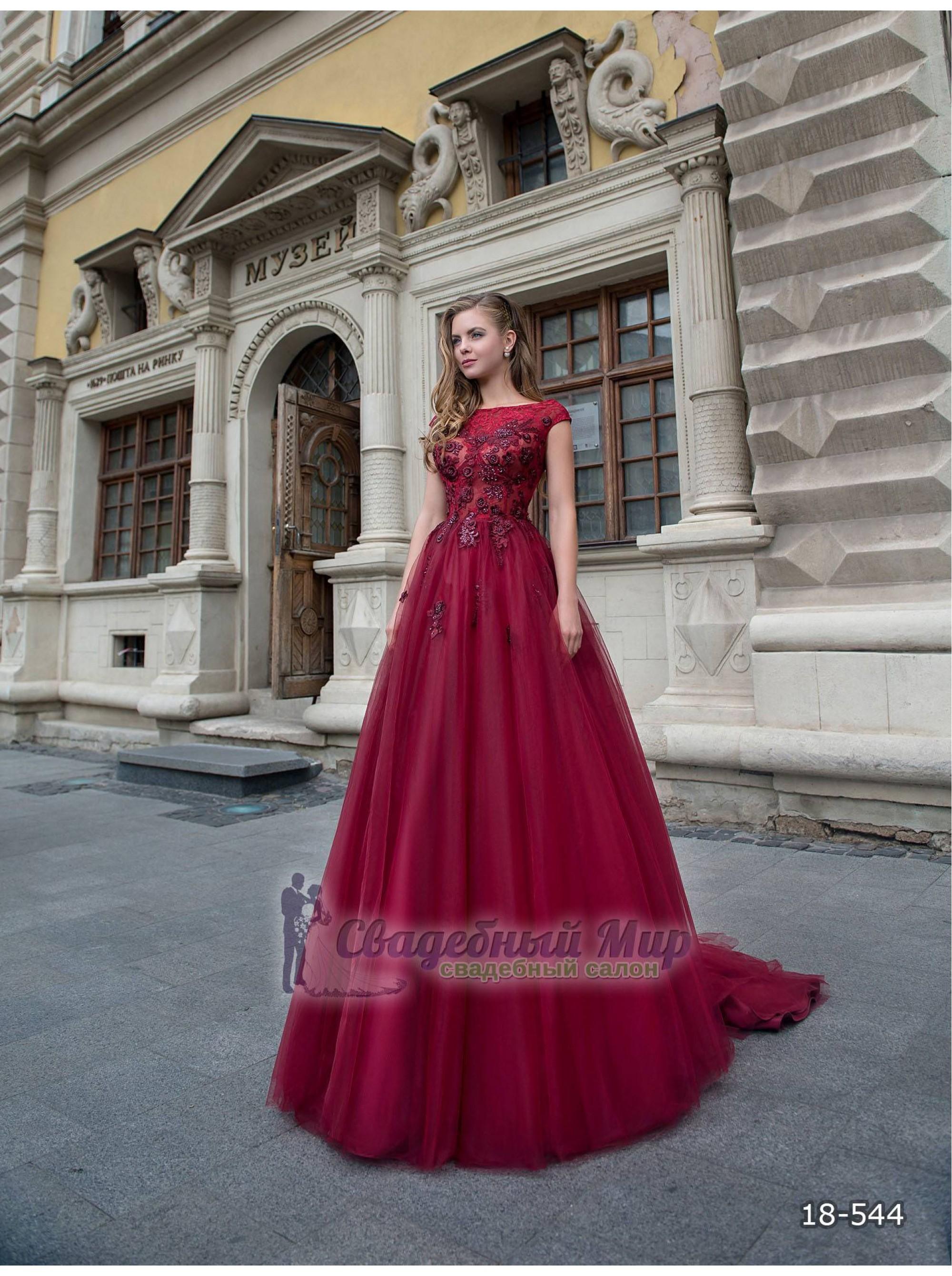 Вечернее платье 18-544