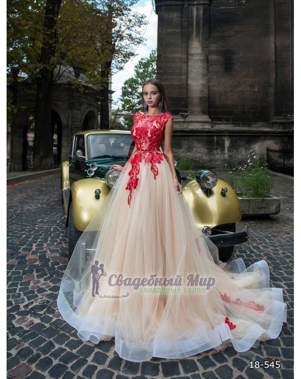 Вечернее платье 18-545