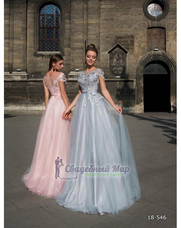 Вечернее платье 18-546