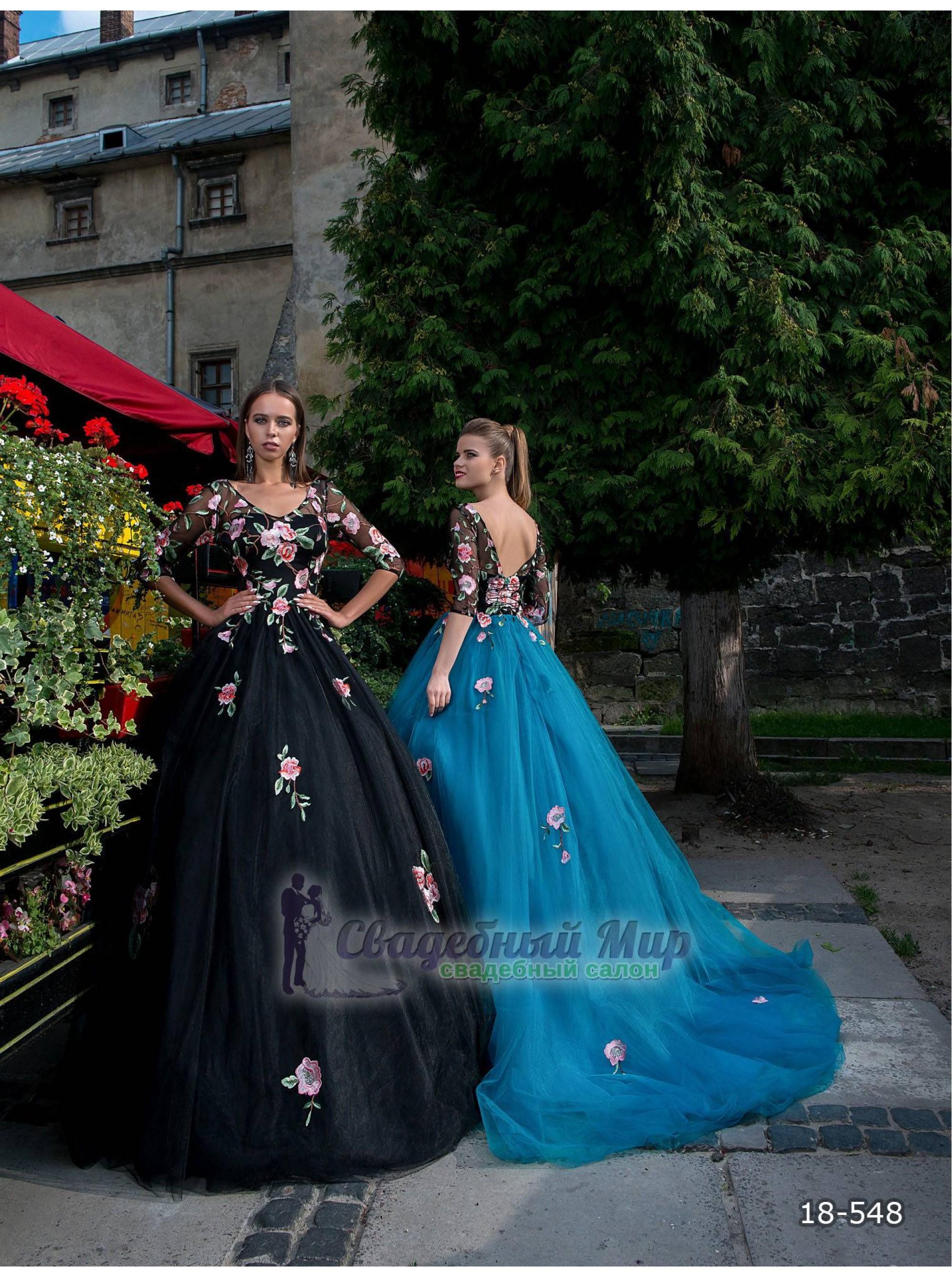 Вечернее платье 18-548
