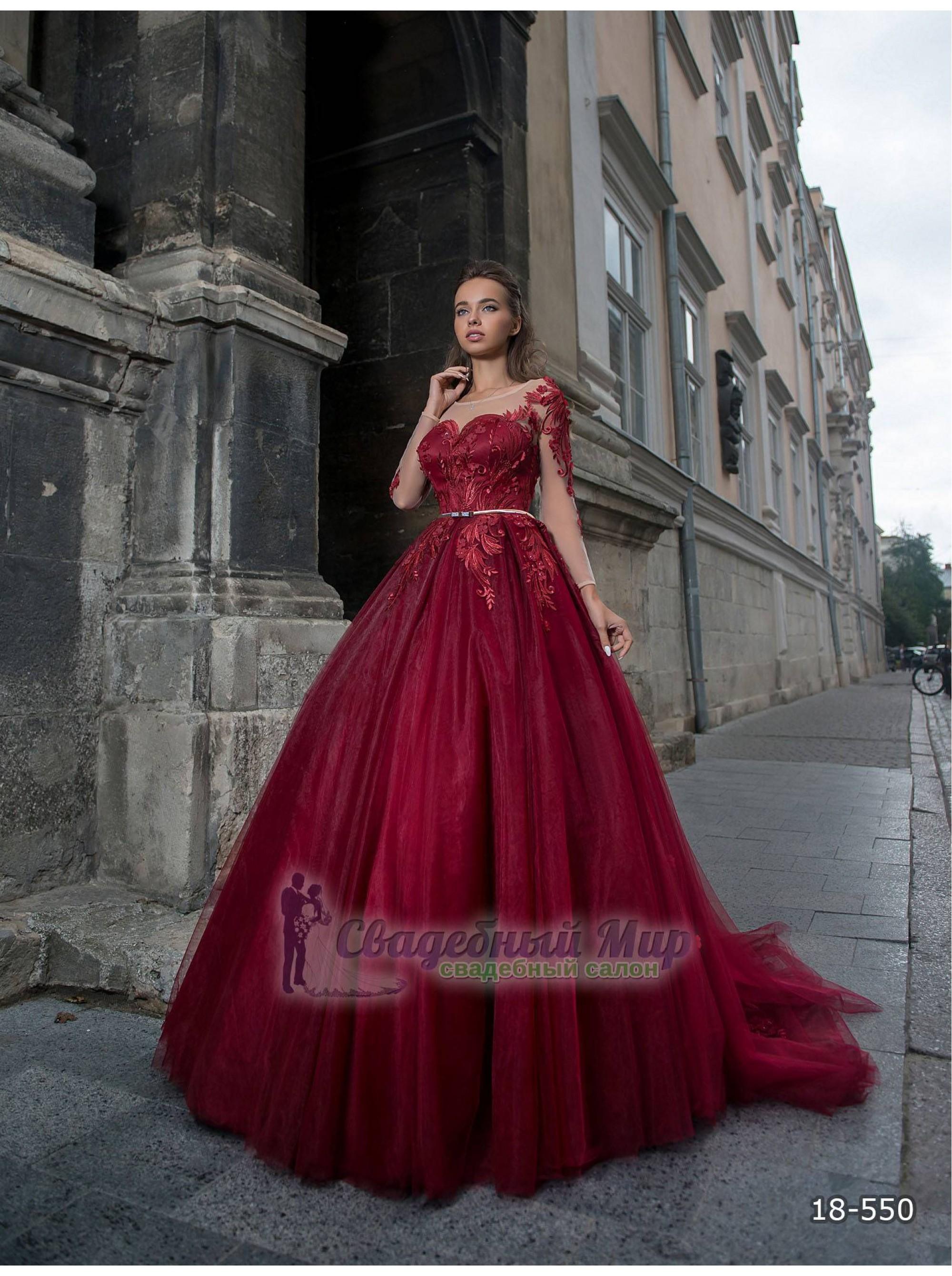 Вечернее платье 18-550