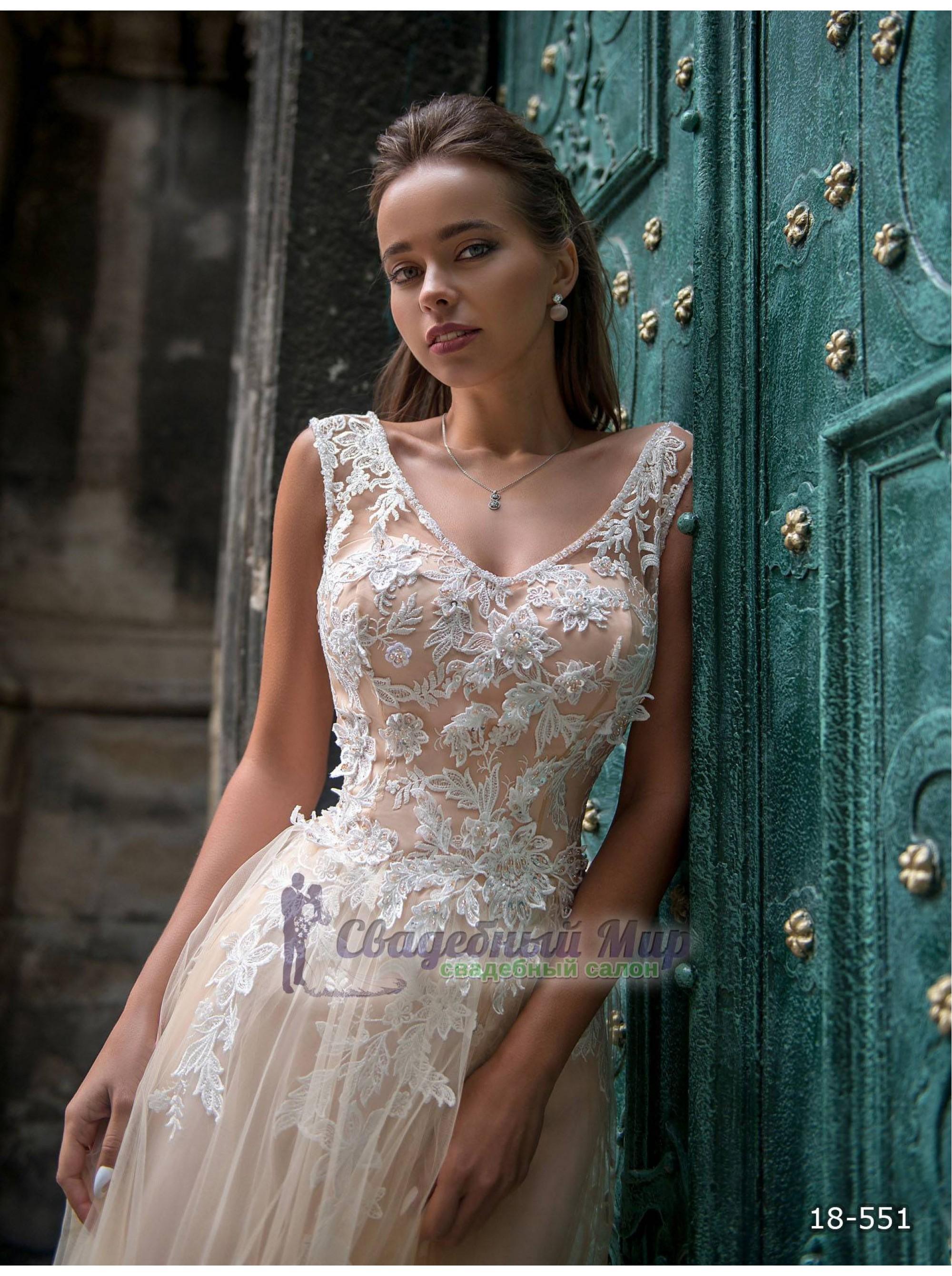 Вечернее платье 18-551