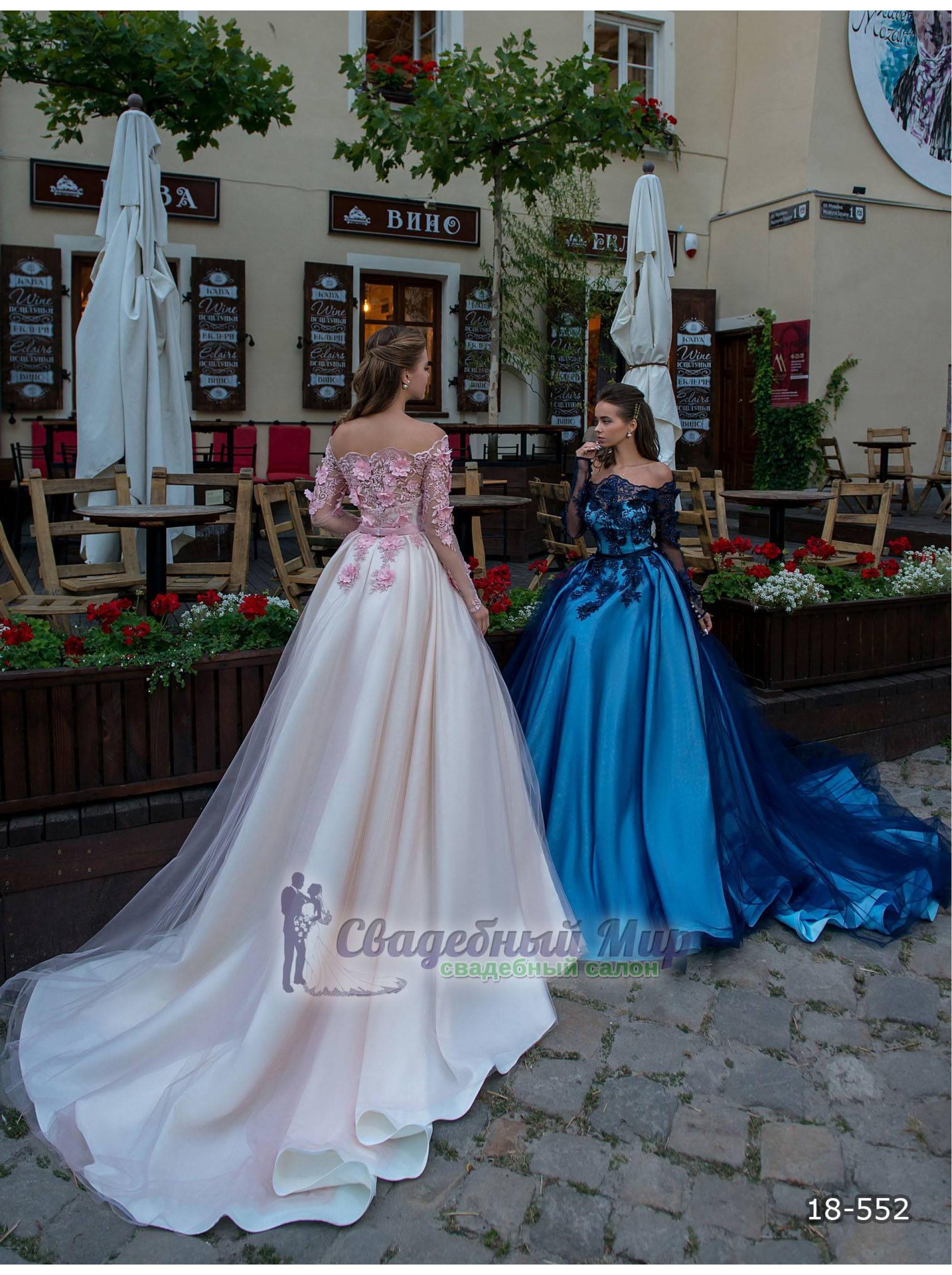 Вечернее платье 18-552