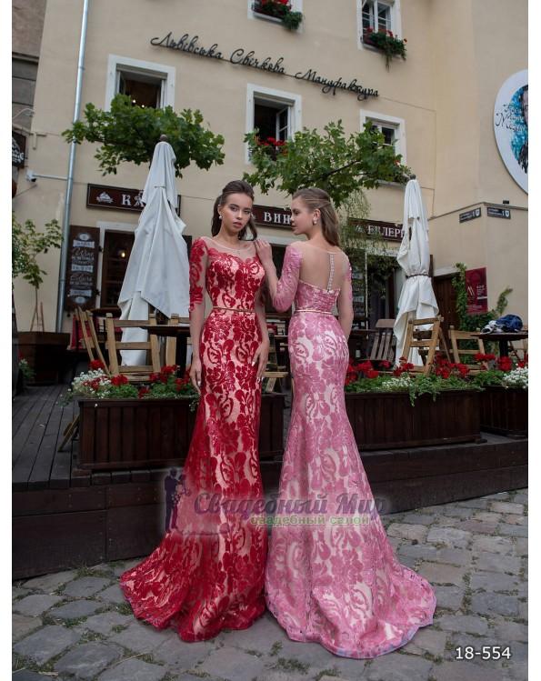 Вечернее платье 18-554