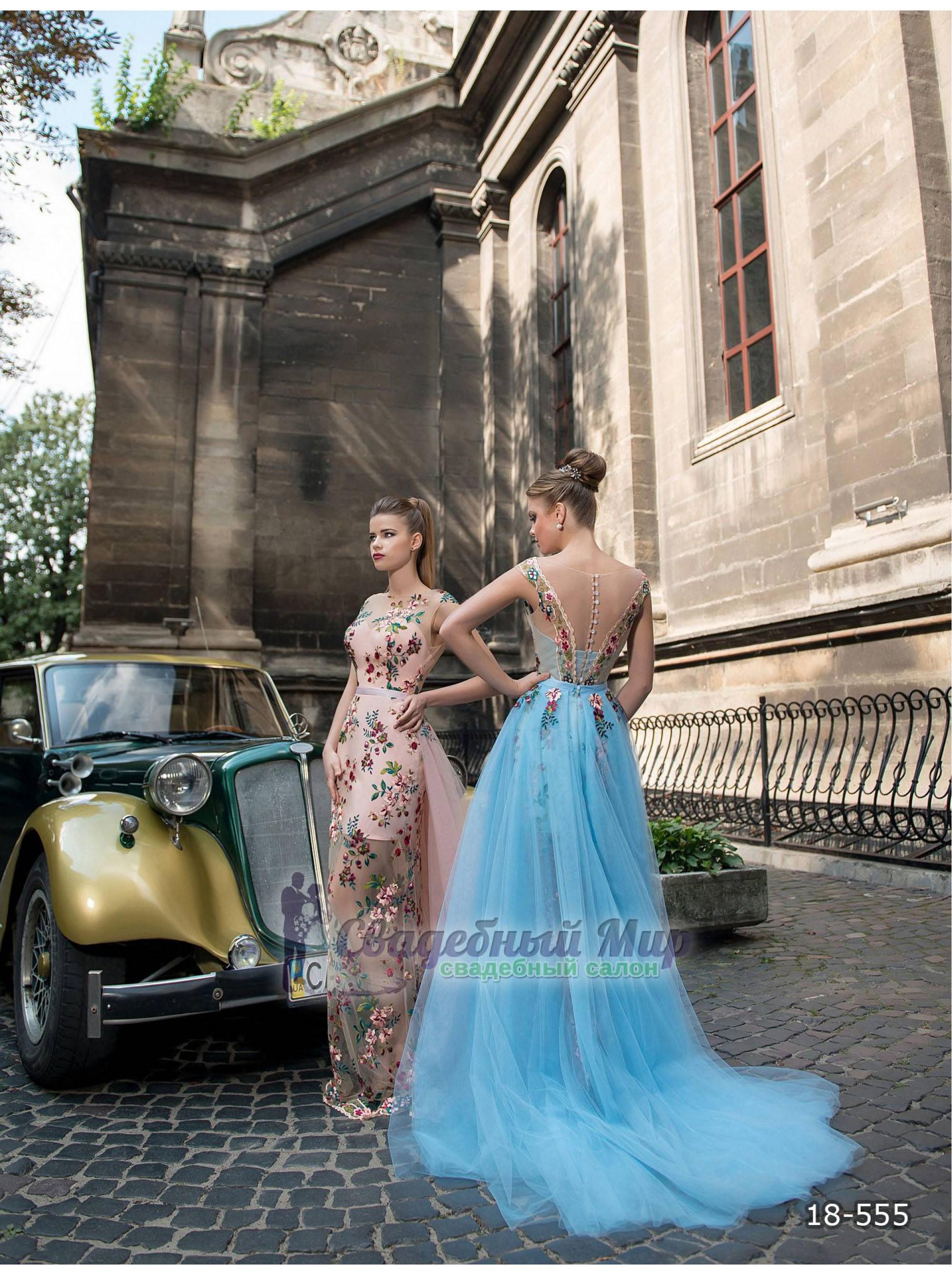 Вечернее платье 18-555