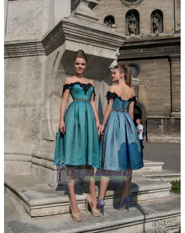 Вечернее платье 18-556