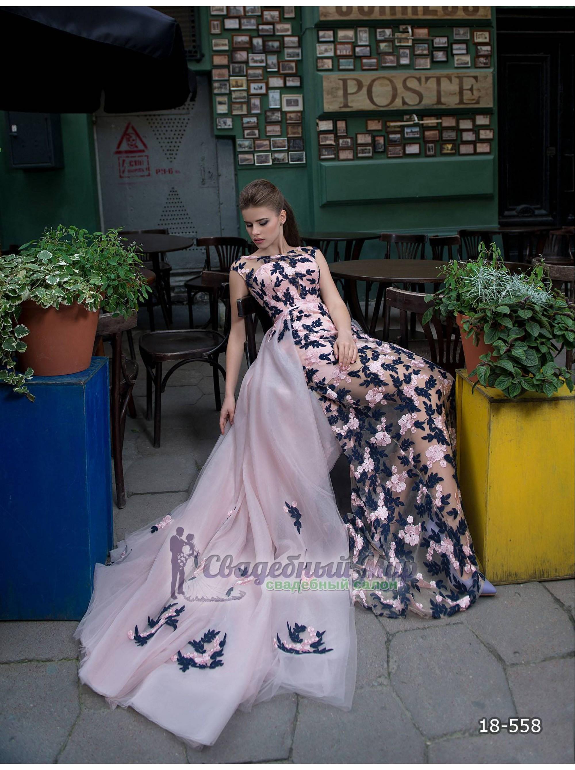Вечернее платье 18-558