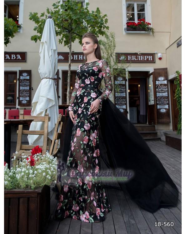 Вечернее платье 18-560