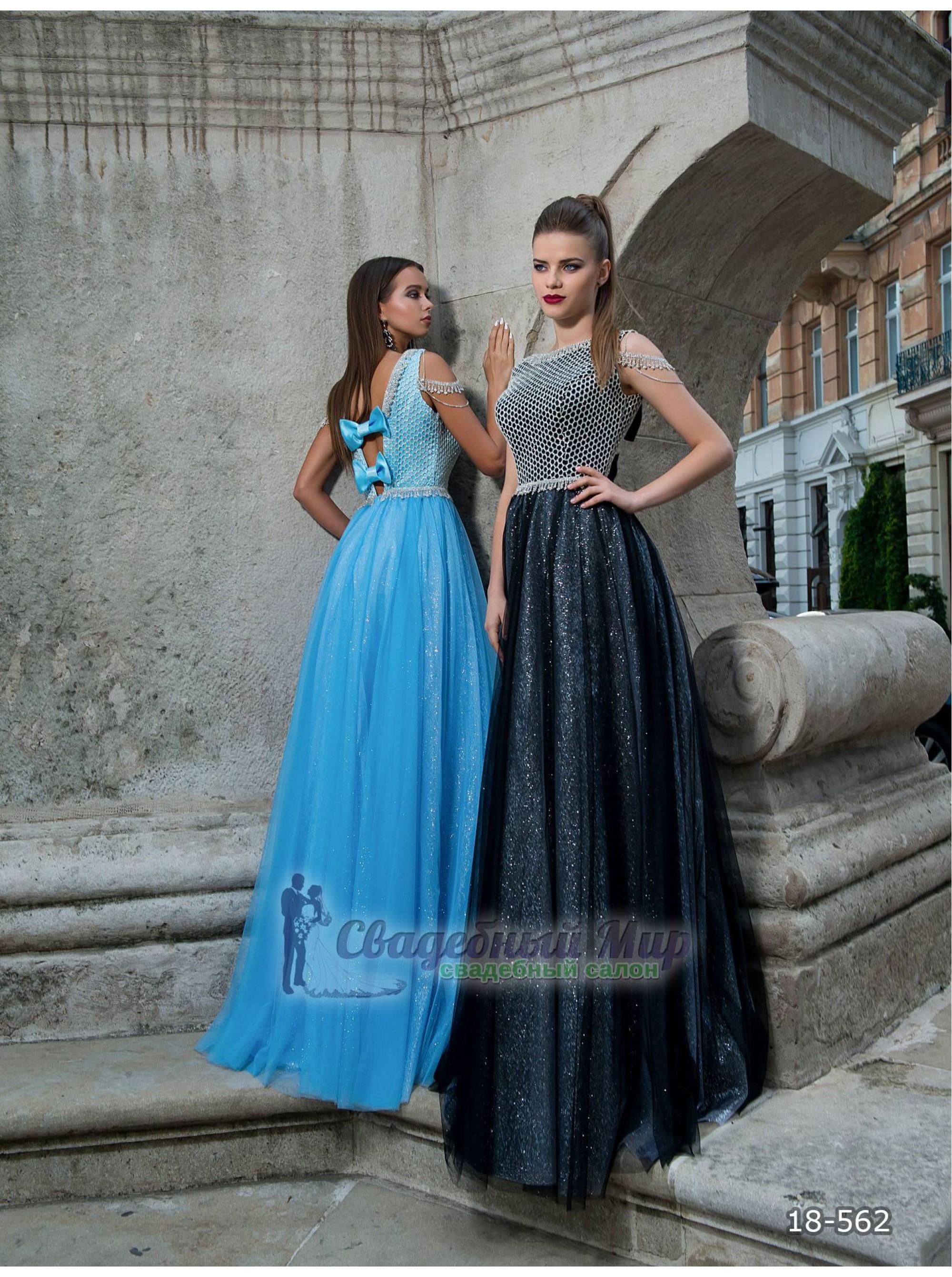 Вечернее платье 18-562