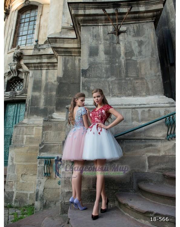 Вечернее платье 18-566
