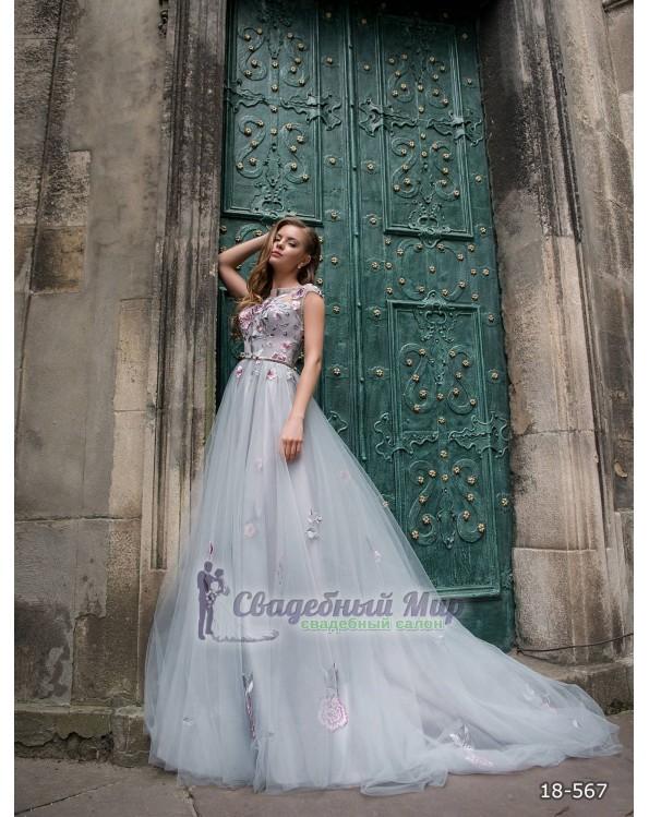 Вечернее платье 18-567