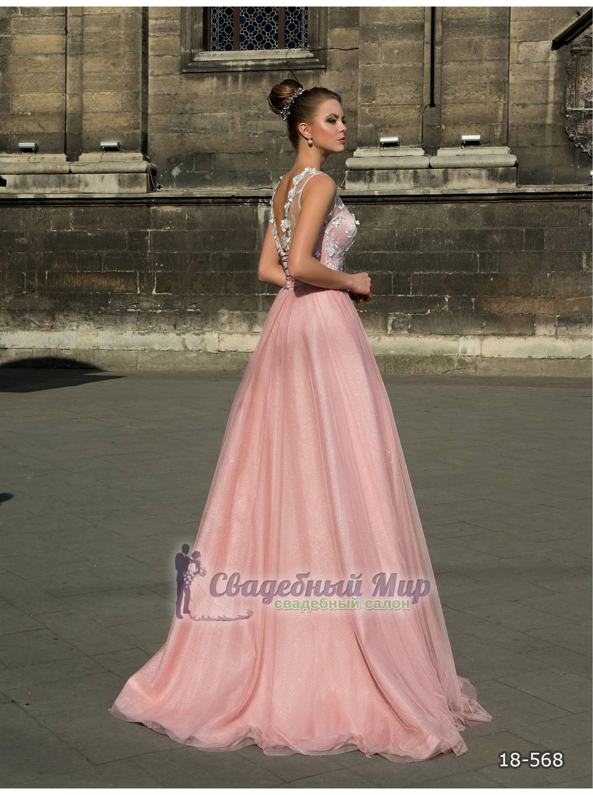 Вечернее платье 18-568