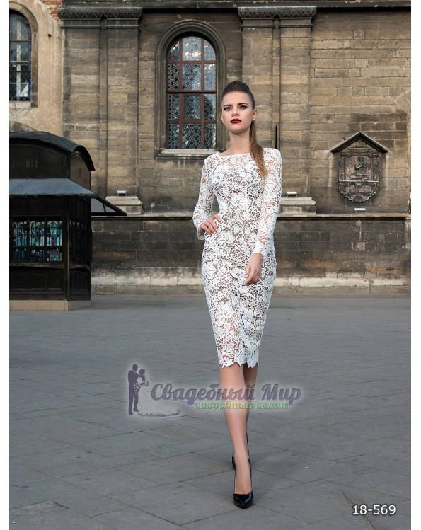 Вечернее платье 18-569