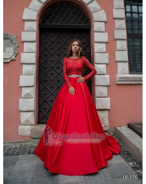 Вечернее платье 18-570