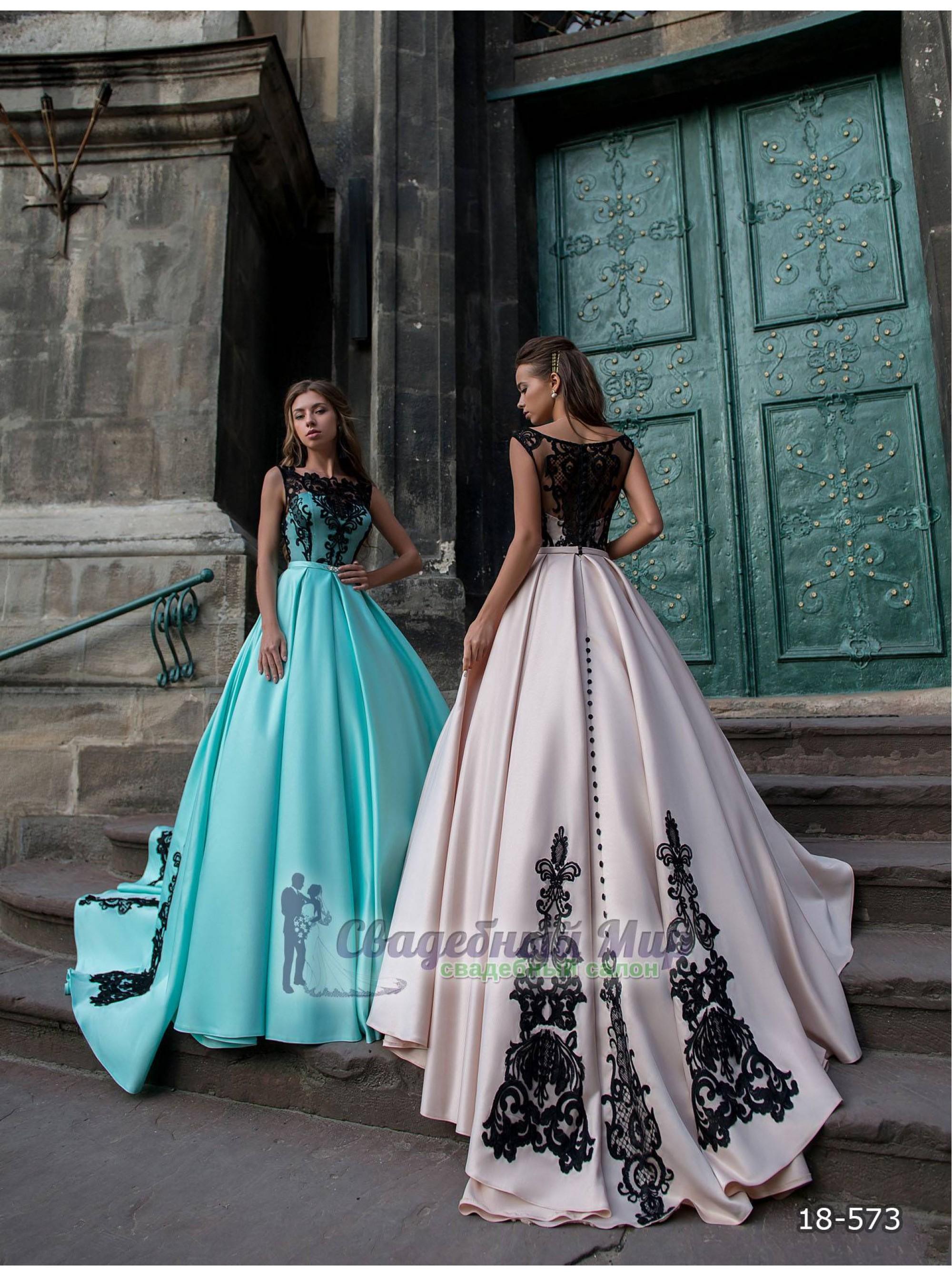 Вечернее платье 18-573