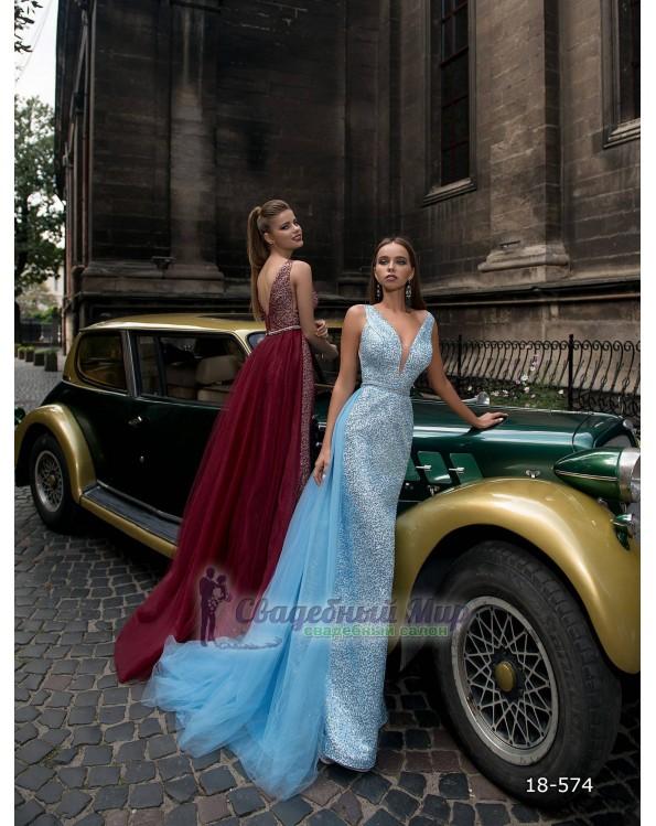Вечернее платье 18-574