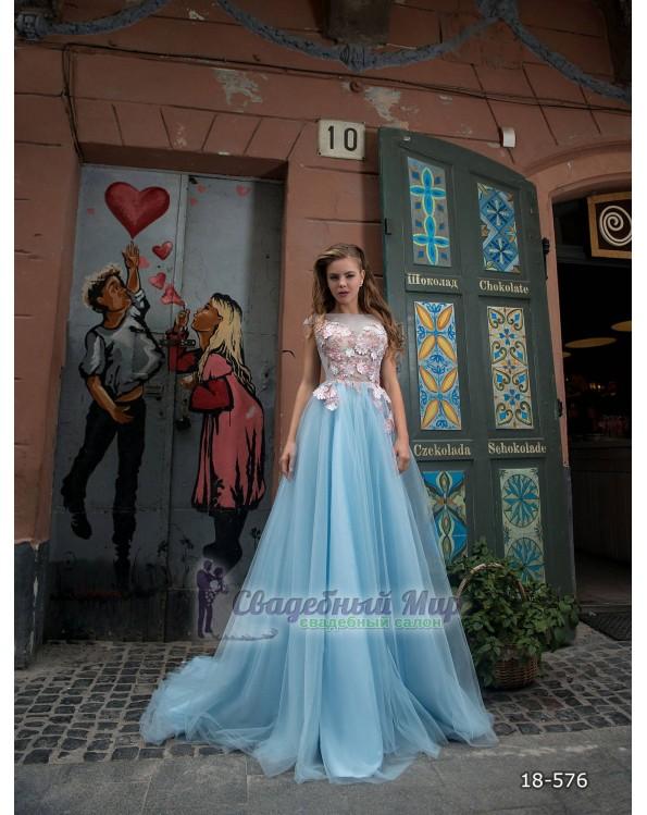 Вечернее платье 18-576