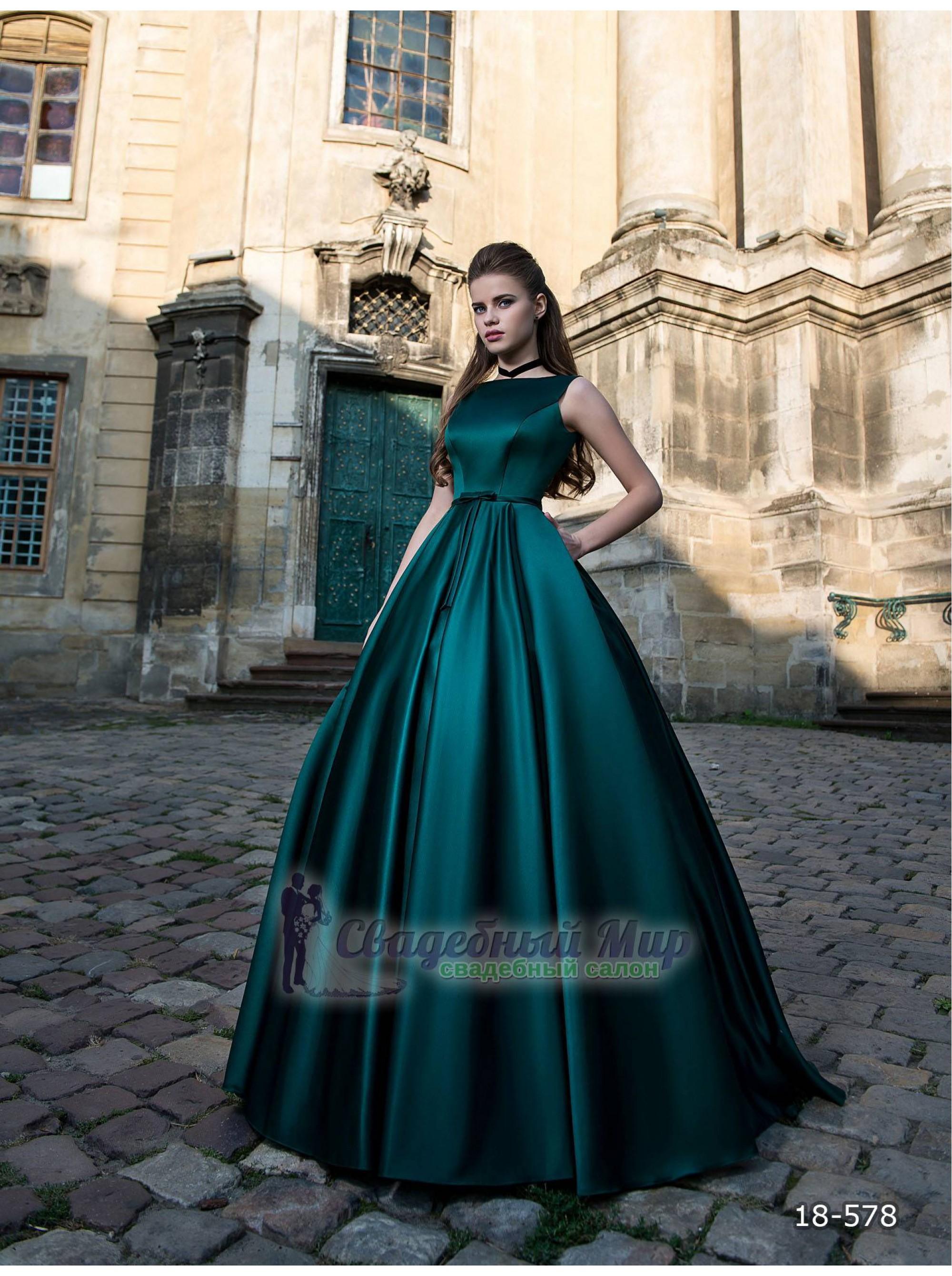 Вечернее платье 18-578