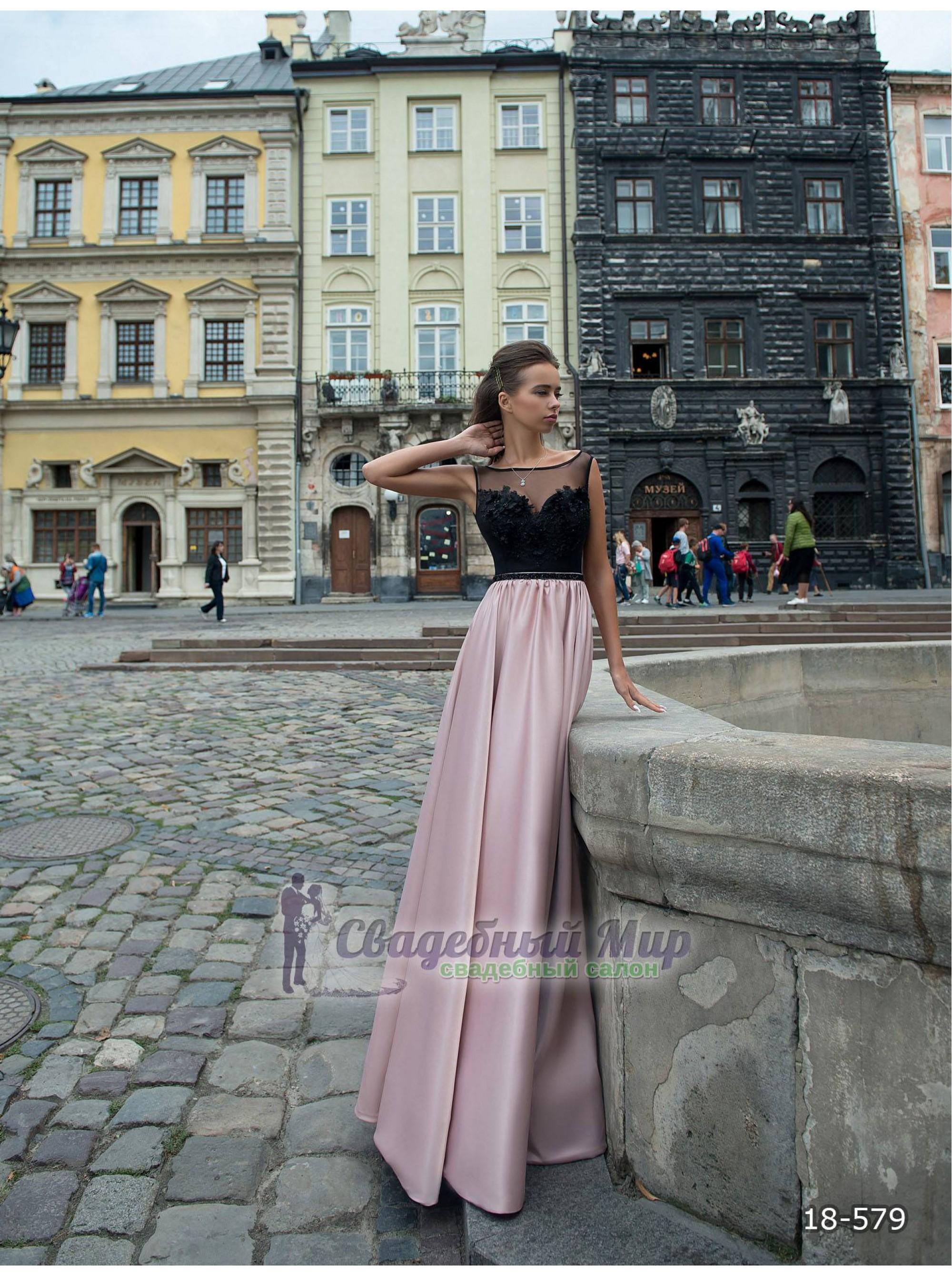 Вечернее платье 18-579