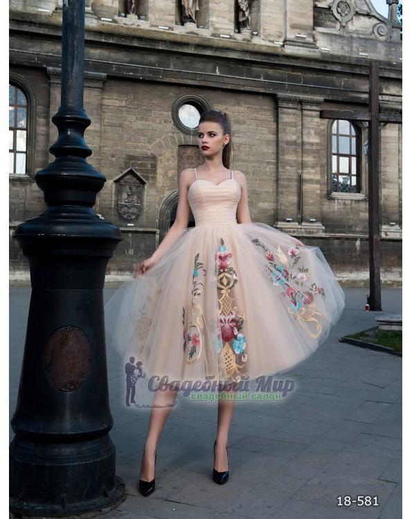 Вечернее платье 18-581