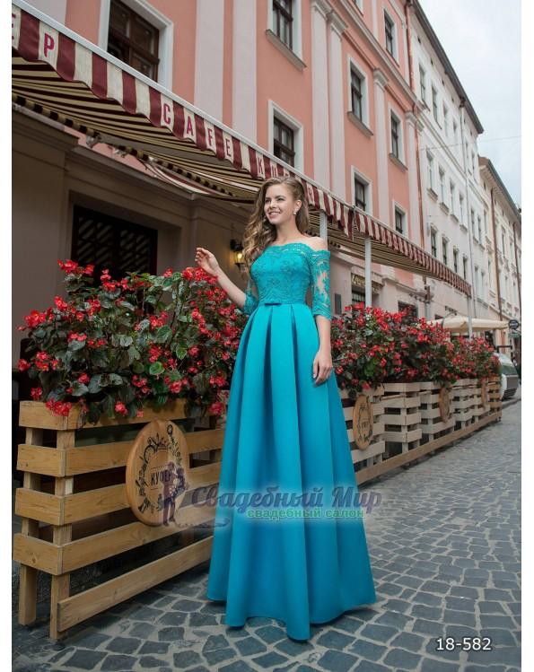 Вечернее платье 18-582