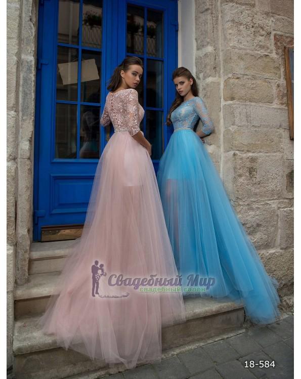 Вечернее платье 18-584