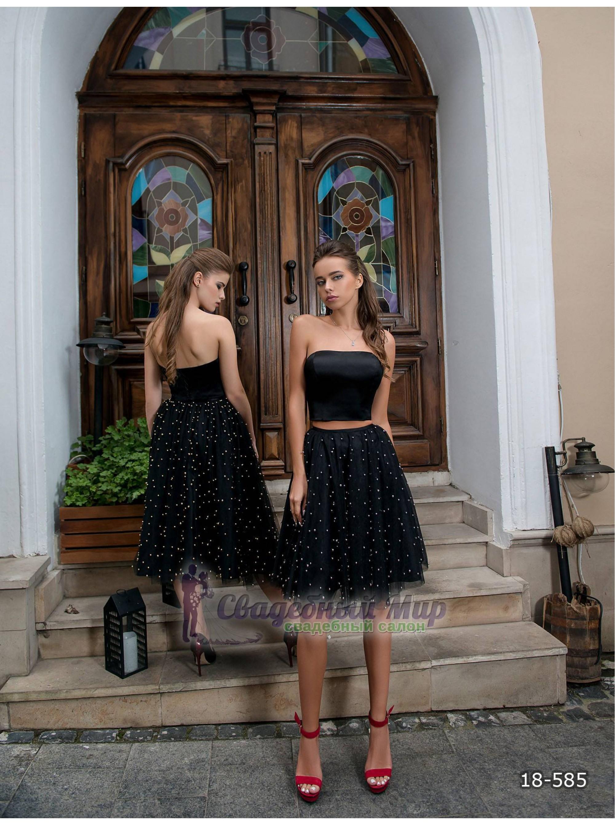 Вечернее платье 18-585