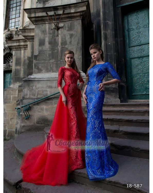 Вечернее платье 18-587