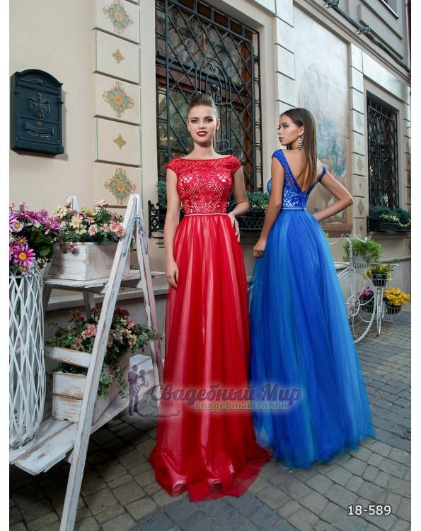 Вечернее платье 18-589