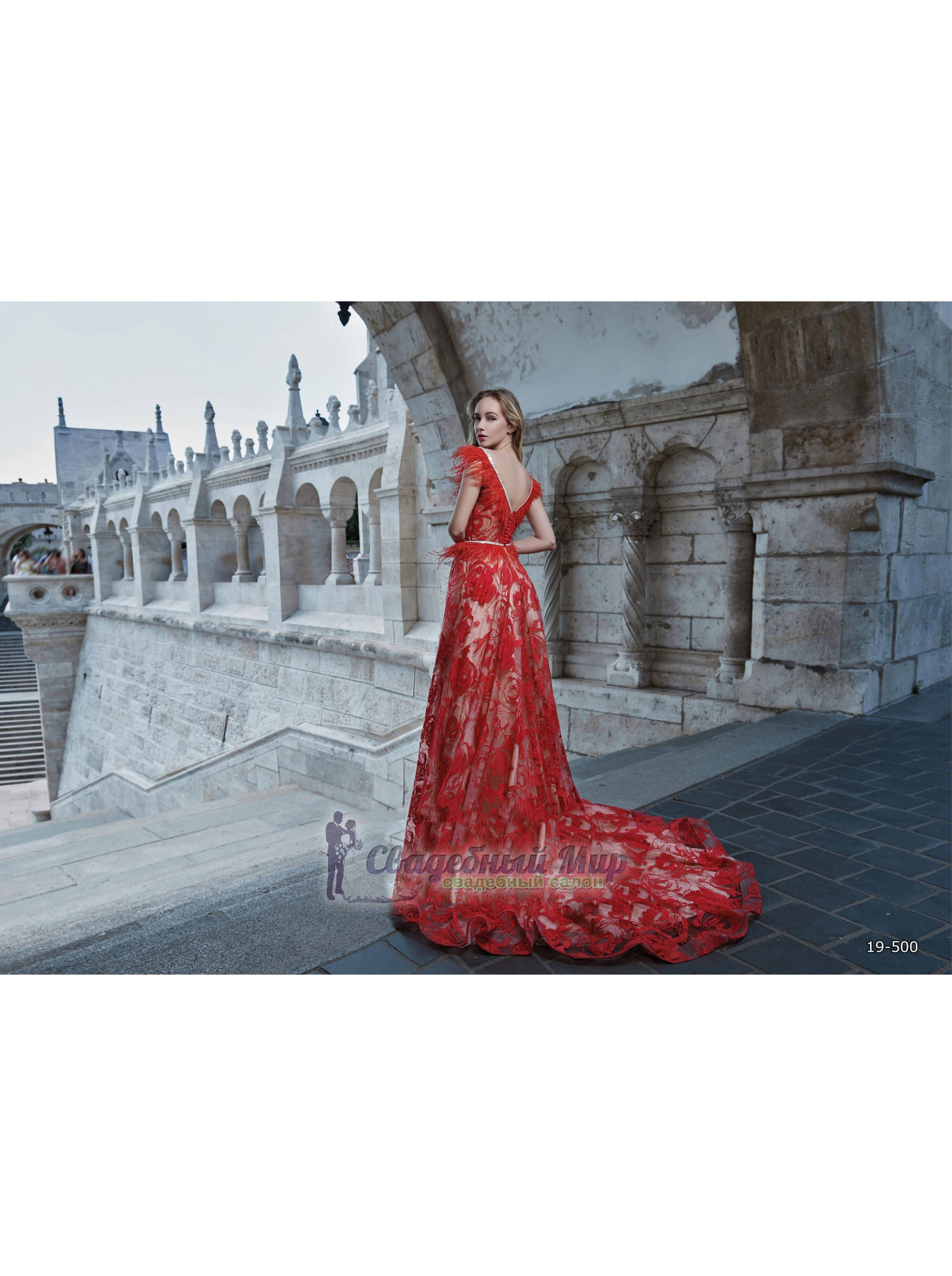 Вечернее платье 19-500