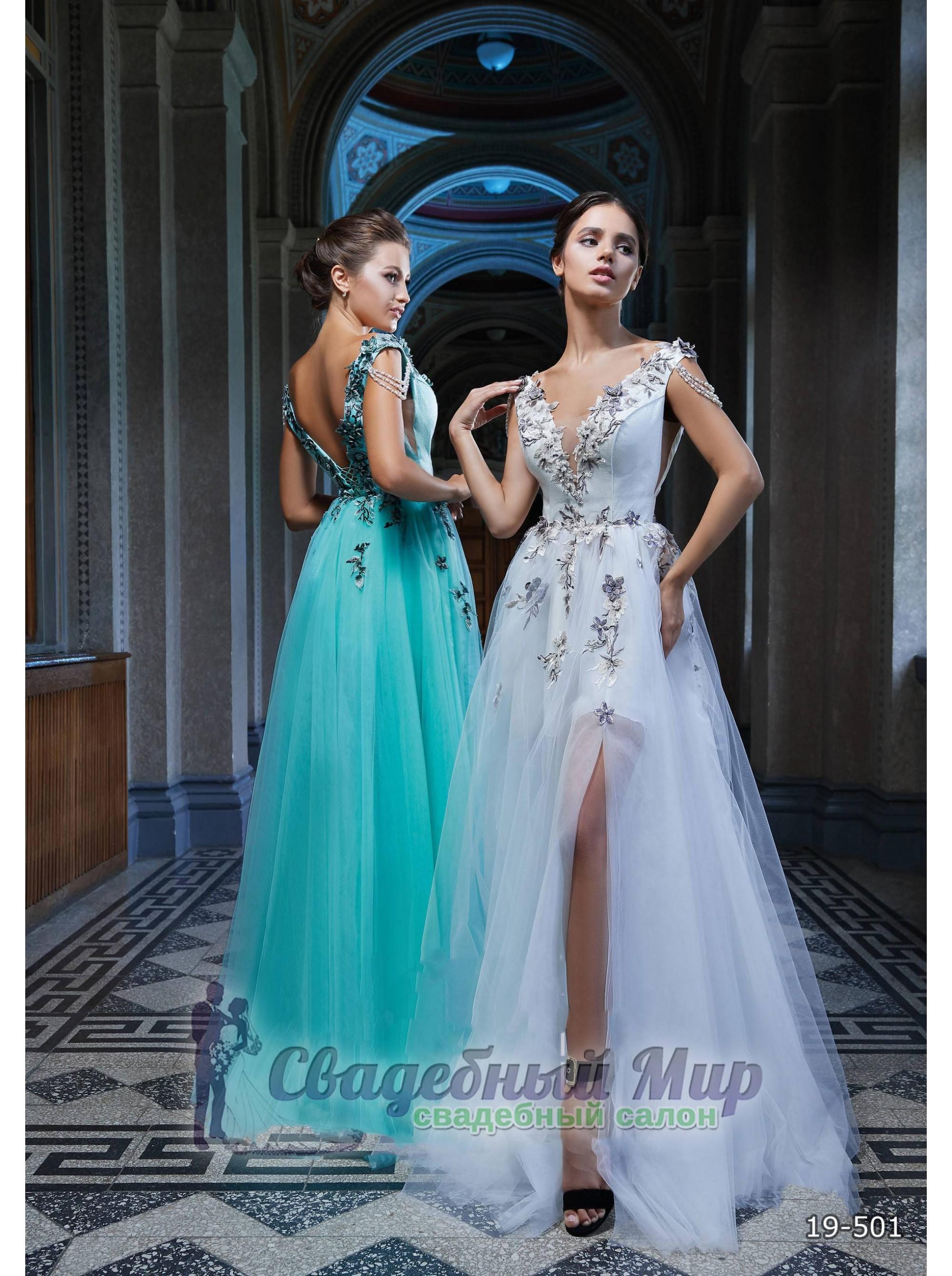Вечернее платье 19-501