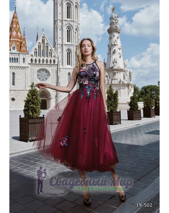 Вечернее платье 19-502